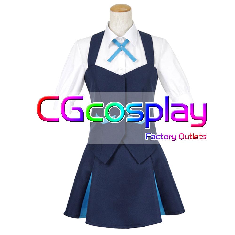 全国一律送料無料! キズナイーバー 高城 千鳥 コスプレ衣装 高品質新品 Cosplay コスチューム