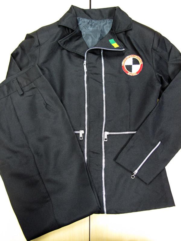 ◆コスプレ衣装◆ペルソナ3 P3/月光館学園男子制服/シャツ欠品・女性Sサイズ【中古】【即納】