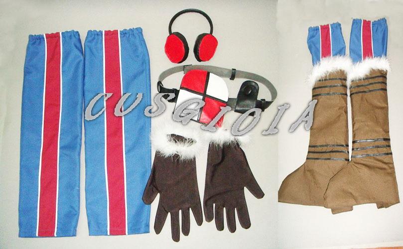 画像(戦場のヴァルキュリア イサラ・ギュンター コスプレ衣装   05P09Jul16)1