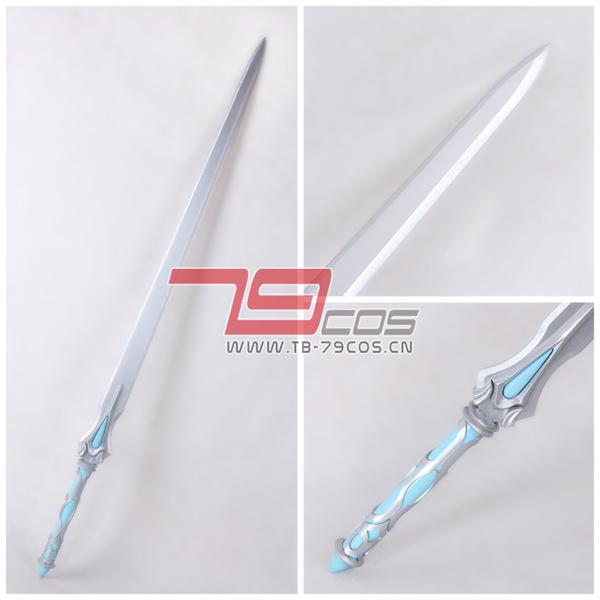 画像(高品質 高級 コスプレ道具 オーダーメイド ソードアート・オンライン 風 武器 衣装 アスナ タイプ 剣(模造)ホワイトソード Ver.12)1
