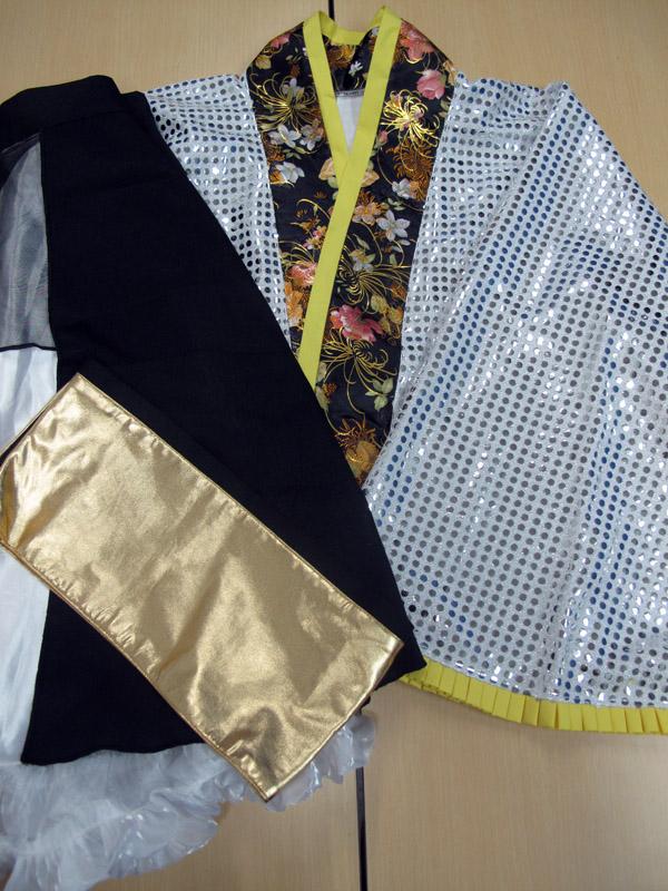 ◆コスプレ衣装◆ラブライブ!/星空凛 輝夜の城で踊りたい/女性Sサイズ【中古】【即納】