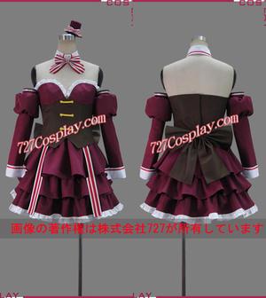 MC1460☆俺の脳内選択肢が、学園ラブコメを全力で邪魔している ショコラ メイド服 コスプレ衣装 ウィッグ追加可能!