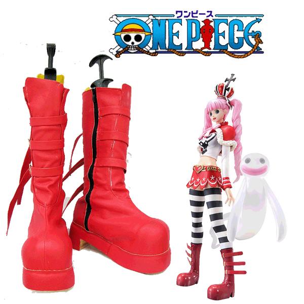 【送料無料】ONE PIECE ペローナ Perona 高品質 コスプレ 靴 ワンピース スリラーバーク 海賊団団員