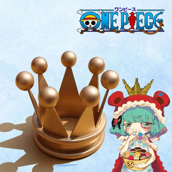 【送料無料】ONE PIECE シュガー 高品質 コスプレ道具 頭飾り ワンピース スリラーバーク海賊団団員