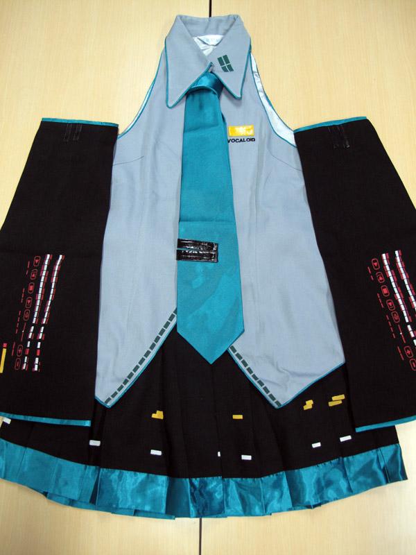 ◆コスプレ衣装◆VOCALOID ボーカロイド ボカロ/初音ミク 通常衣装/女性Lサイズ【中古】【即納】