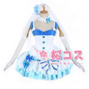 Re:ゼロから始める異世界生活 レム ウェディングドレス コスプレ衣装
