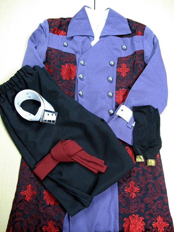 ◆コスプレ衣装◆薄桜鬼/風間千景 洋装/スカーフ欠品・ベルト色移り・女性Lサイズ【中古】【即納】