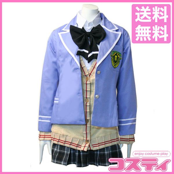 【送料無料・即納・即日発送】学園K -Wonderful School Days-葦中学園高校風 女子制服コスプレ衣装 ネコ