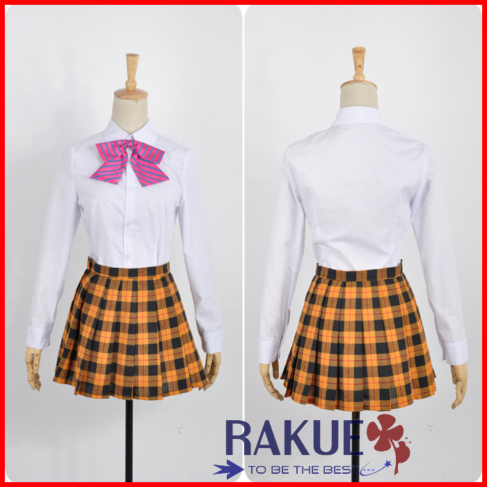 画像(食戟のソーマ 薙切えりな 遠月学園 女子制服セット コスプレ衣装)1