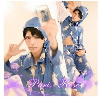 コスプレ衣装 『進撃の巨人』リヴァイ のパジャマ姿 COS/COSPLAY
