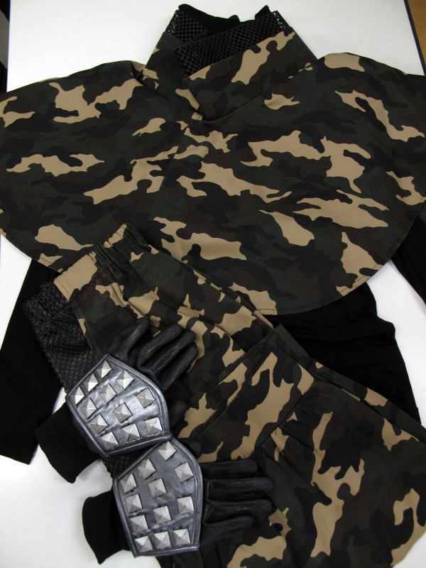 ◆コスプレ衣装◆戦国BASARA3/猿飛佐助・インナー既製品流用(女性M)【中古】ハロウィン/仮装