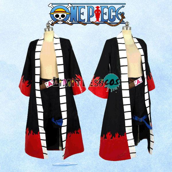 ポートガス D エース ASCE 火拳 ONE PIECE 高品質コスプレ衣装 ワンピース 白ひげ海賊団 隊長