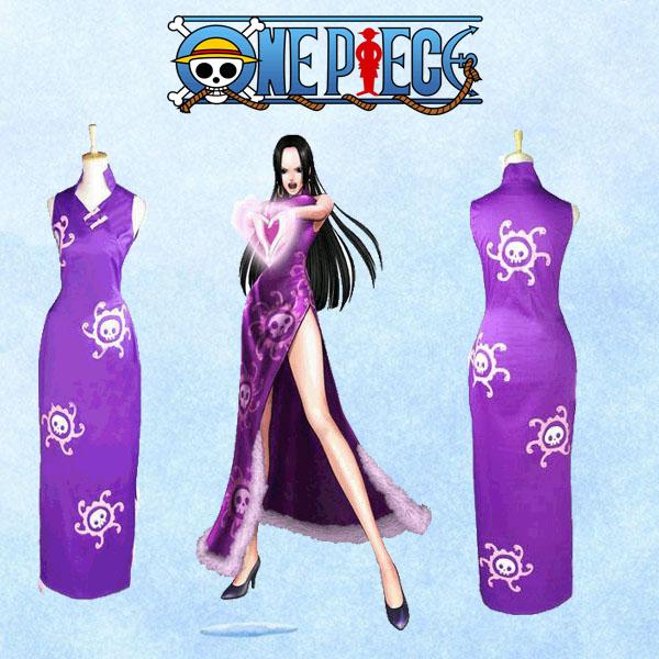 【送料無料】ONE PIECE 高品質 ボア・ハンコック 海賊 女帝 コスプレ衣装 ワンピース 蛇姫 七武海 九蛇海賊団