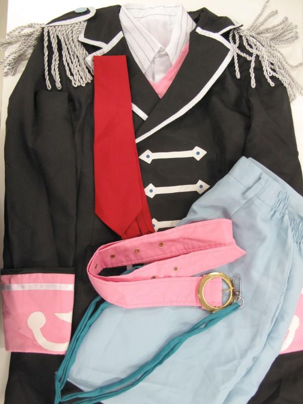 ◆コスプレ衣装◆アイドリッシュセブン・アイナナ/九条天・SECRET NIGHT・シャツ汚れ(女性S)【中古】