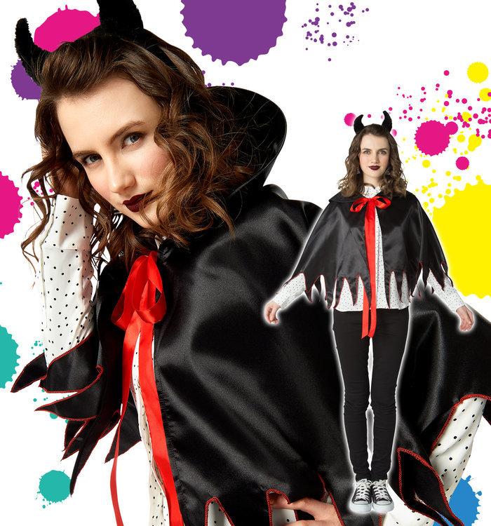 アムールデビルマントセット ハロウィン 衣装 レディース ハロウィン 仮装 衣装 コスチューム コスプレ