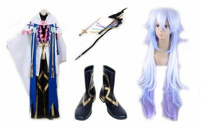 コスプレ衣装+ウィッグ+靴+道具 Fate/Grand Order(フェイト/グランドオーダー) マーリン  変装/仮装/豪華/華麗/高品質