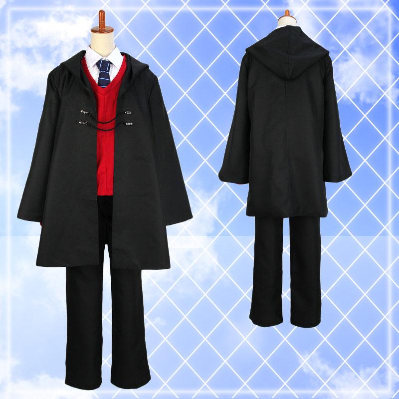 【男子・黒制服】Fate/Grand Order FGO 魔術協会制服風衣装 ハロウィン 仮装 コスプレ ハロウイン