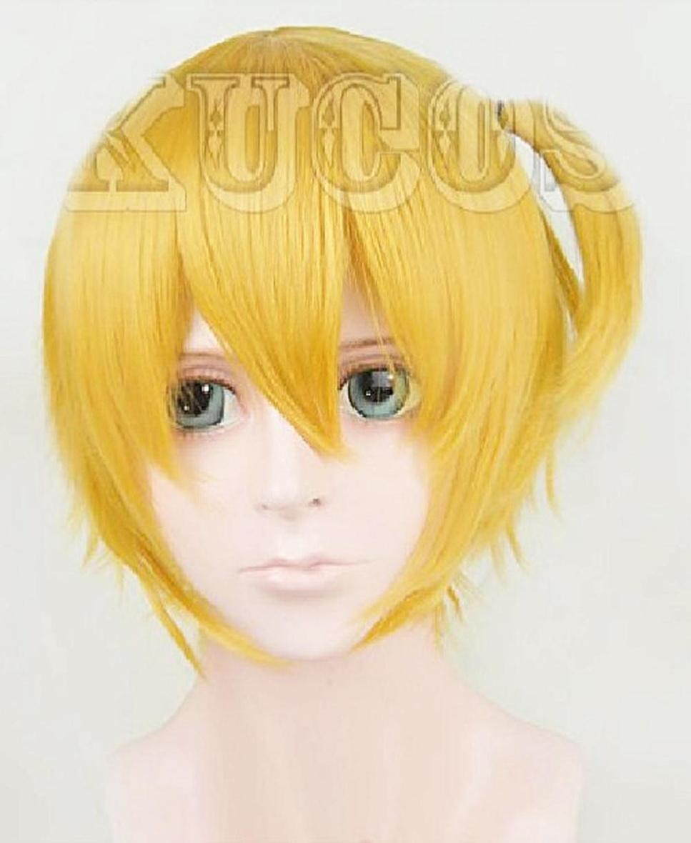 ハイキュー!! 谷地 仁花 やち ひとか コスプレウィッグ wig 【送料無料】mmk-e77
