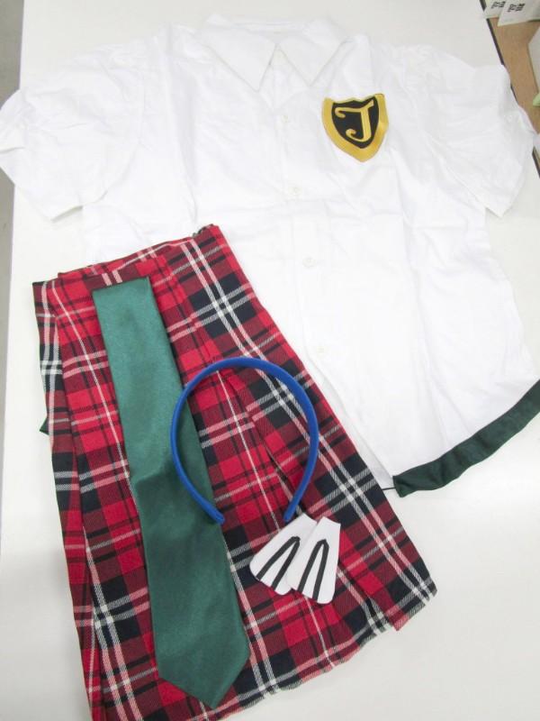 ◆コスプレ衣装◆新世紀エヴァンゲリオン/真希波マリ・制服(女性L)【中古】