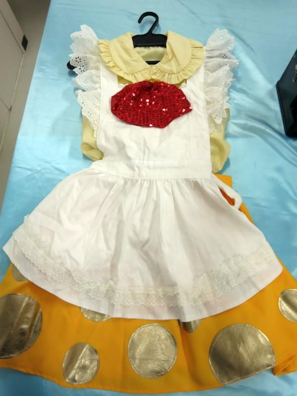◆コスプレ衣装◆ラブライブ・スクフェス・μ's/小泉花陽・これからのsomeday・スカート設定色違い(女性M)【中古】仮装