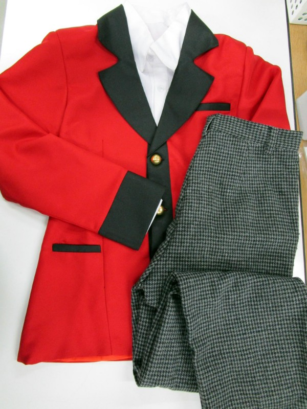◆コスプレ衣装◆賭ケグルイ/男子制服・ネクタイ欠品・シャツ襟汚れ(女性S)【中古】