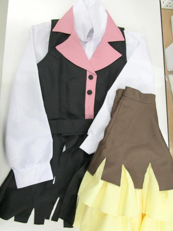 ◆コスプレ衣装◆文豪ストレイドッグス・文スト/ルーシー・M・モンゴメリ・ウィッグ付き(女性S)【中古】