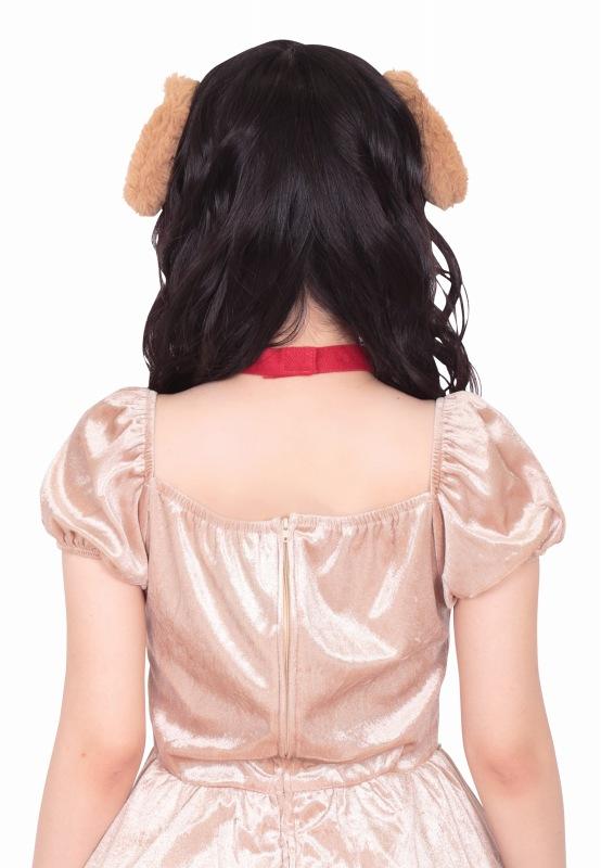 画像(【3点までメール便も可能】 けもみみピン いぬ  [けものフレンズ イヌ いぬ耳ピン ドッグ コスプレ 仮装 獣耳ピン ヘアピン]【B-2952_872887】)1