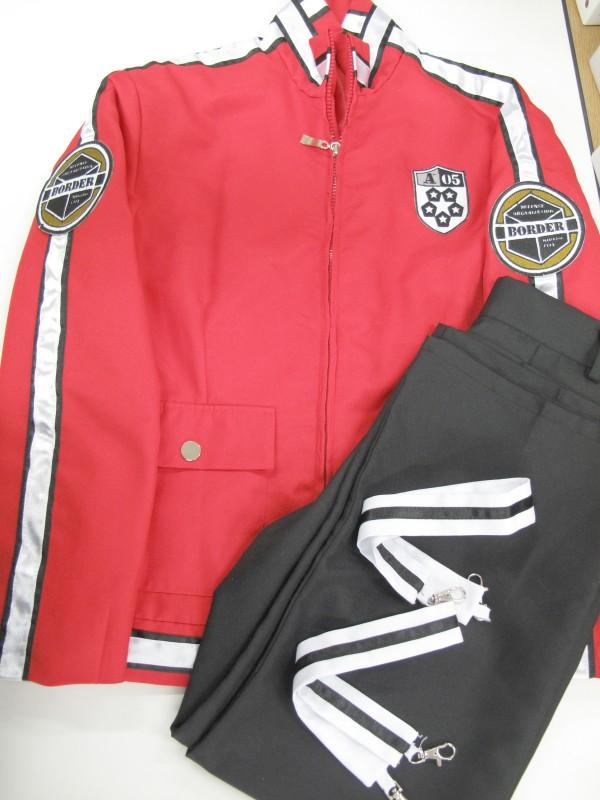 ◆コスプレ衣装◆ワールドトリガー/嵐山隊・隊服(女性M)【中古】
