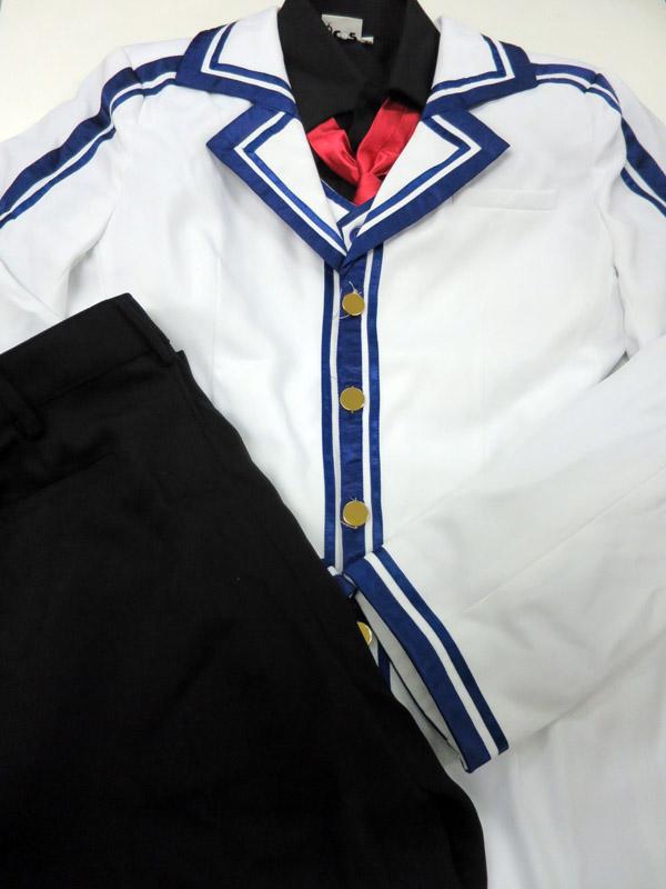 【値下げしました】◆コスプレ衣装◆Rewrite リライト/風祭学院高校男子制服/ACOS製・女性Lサイズ【中古】