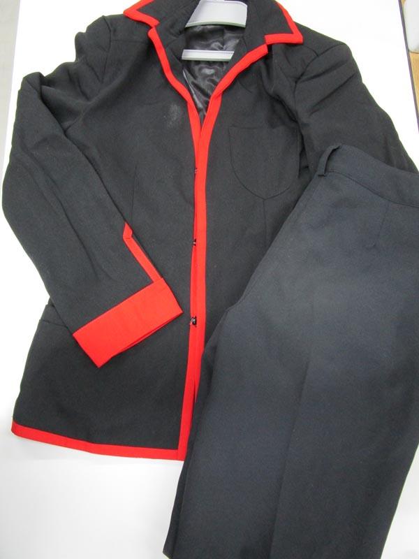 ◆コスプレ衣装◆リトルバスターズ!/男子制服・上着汚れ・シャツなし・スナップボタン*1外れ・上下生地違い(女性M)仮装/コミケ/リトバス