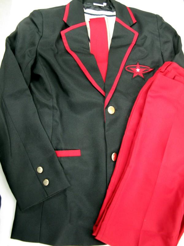 ◆コスプレ衣装◆輪るピングドラム・ピンドラ/男子制服・アコス製・シャツなし(女性L)【中古】