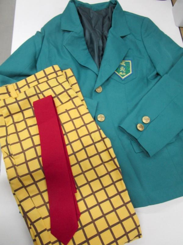 ◆コスプレ衣装◆弱虫ペダル・弱ペダ/総北高校男子制服・シャツ欠品(女性M)【中古】