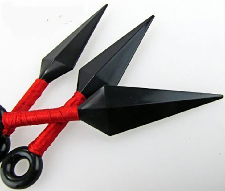 【送料無料】 コスプレ衣装小道具 NARUTO -ナルト- 忍者武器 苦無くない手裏剣 3枚セット
