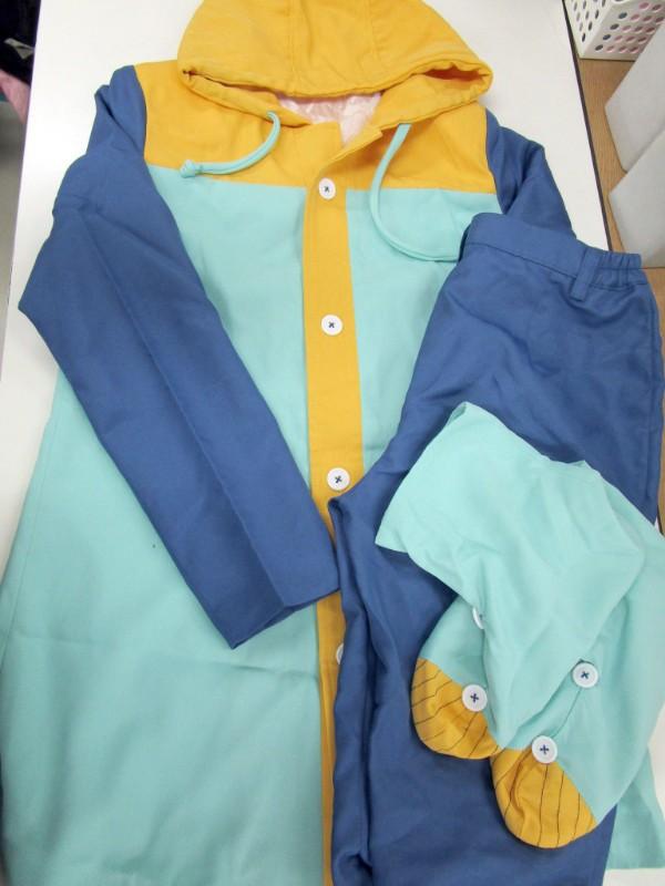 ◆コスプレ衣装◆七つの大罪・戒めの復活/キング・クッション付(女性L)【中古】