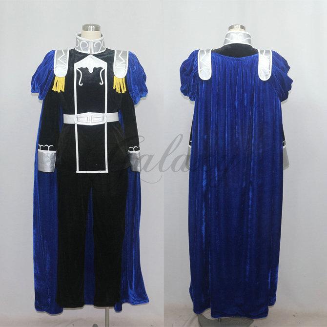 銀河英雄伝説 銀河帝国 ウォルフガング・ミッターマイヤー コスプレ衣装 cc1874【送料無料】