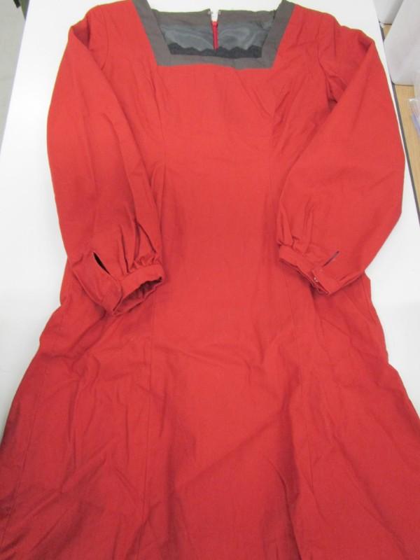 ◆コスプレ衣装◆ペルソナ4・ザゴールデン/天城雪子・私服・ワンピースのみ・個人製(女性L)【中古】