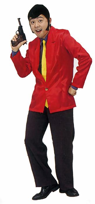 画像([ルパン三世 コスプレ] 怪盗ルーパン  [ルパン コスチューム ルパン衣装 コスプレ ルパン3世 ドロボウ モンキーパンチ アニメ]【A-0052_770556】)1