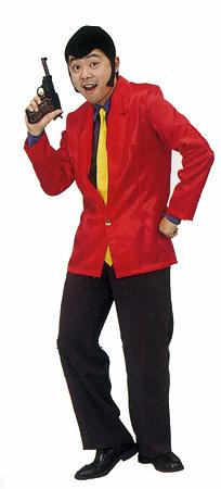 怪盗ルーパン  [ルパン衣装・ルパン三世コスプレ・アニメ衣装・仮装グッズ・イベント・宴会]【A-0052_770556】