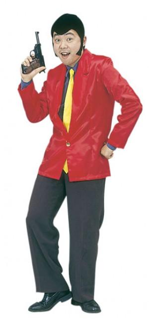 怪盗ルーパン ルパン衣装 ルパン三世コスプレ アニメ衣装 仮装グッズ イベント 宴会