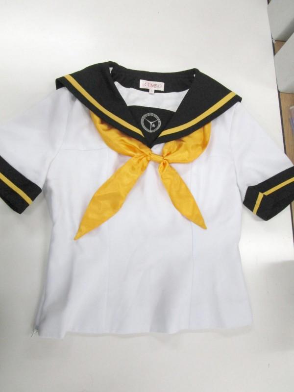 ◆コスプレ衣装◆ペルソナ4・ザゴールデン/女子夏制服・上着のみ・全体汚れ・コスレボ製(女性S)【中古】