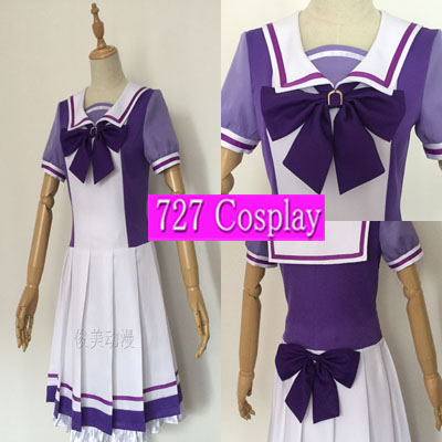 XK420☆ウマ娘 プリティーダービー トレセン学園女子制服スペシャルウィーク コスプレ衣装 ウィッグ追加可能!