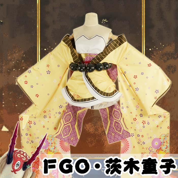 画像(【受注生産S/M/L】茨木童子 Fate/Grand Order いばらきどうじ FGO コスプレ衣装 COSPLAY cosplay コスチューム 学園祭 イベント 文化祭 仮装 変装 la160n1n1n1/代引不可 02P09Jul16)1