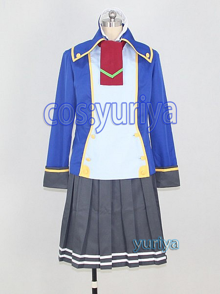 BLAZBLUE(ブレイブルー)ツバキ=ヤヨイ 制服★コスプレ衣装