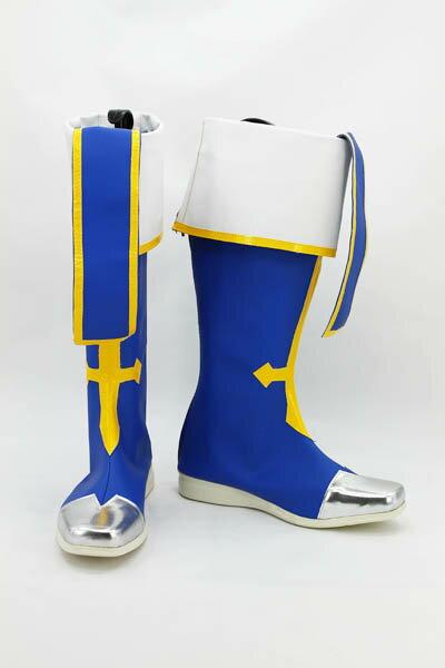 コスプレ靴 BLAZBLUE(ブレイブルー) ジン=キサラギ「JIN KISARAGI」変装/仮装/豪華/華麗/高品質